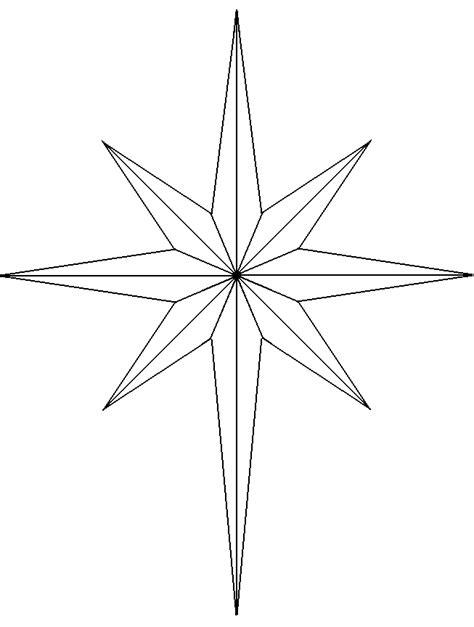 estrella grande para colorear e iluminar estrellas para