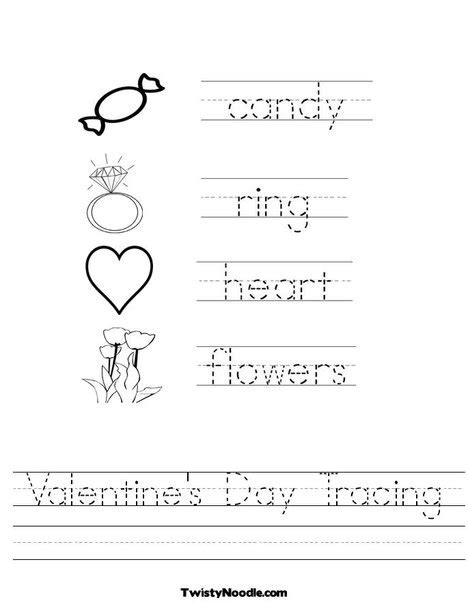 printable worksheets valentine s day 10 free valentine s day tracing worksheets for kids the