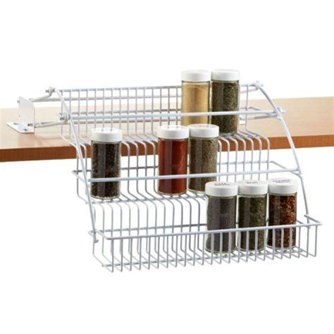 Rubbermaid Pull Cabinet Spice Rack by Pin By Hutchens On Organize