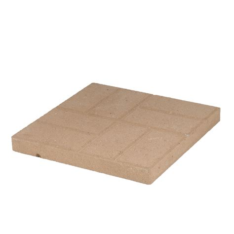 Patio Pavers Lowes Shop Brickface Patio Common 16 In X 16 In