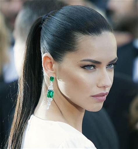 adriana lima hairstyles (photos) | hottest celebrity