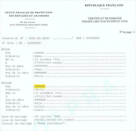 Etat civil fribourg marriage annulment