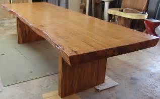 live edge dining table reclaimed solid slab rosewood by