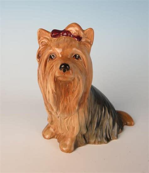 yorkie statue vintage slyvac yorkie figurine terrier statue pottery 5027 ebay