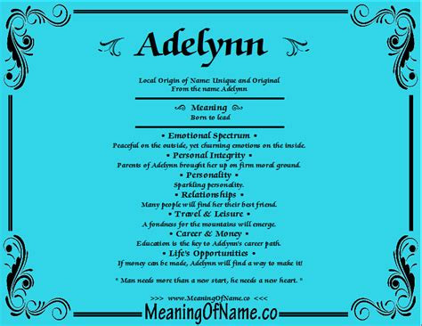 behind meaning adelynn meaning of name