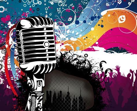 design wallpaper karaoke eps10 free vector graphics premium eps vectors stock