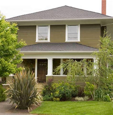 exterior paint schemes  foursquares design