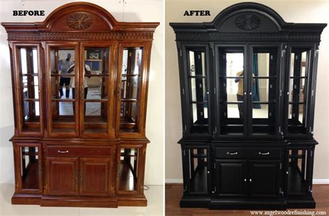 Refinish Wood Kitchen Cabinets by Richardson Furniture Refinishing Richardson Furniture Repair