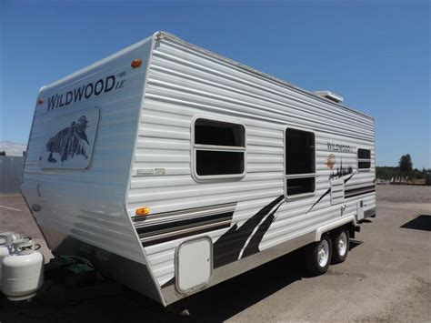 used 2005 forest river rv wildwood le 31qbss le travel forest river wildwood 22 rvs for sale
