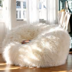 Luxury Slipcovers Furry And Cozy Beanbags