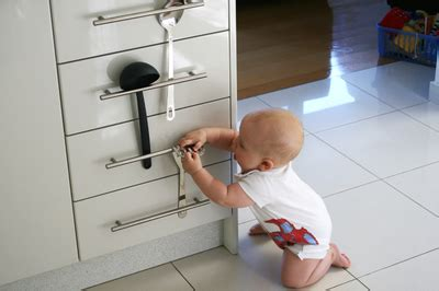 How To Baby Proof Kitchen Cabinets Baby Proof Your Home Katys Baby