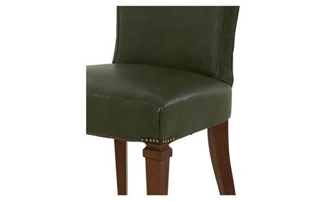 green leather chair vintage green leather chair jayson home