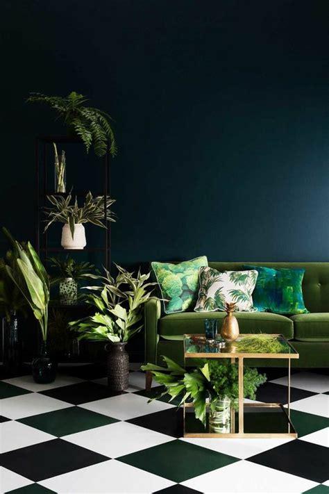 wohnzimmer jungle aktuelle farben und texturen im interieur ab kommenden