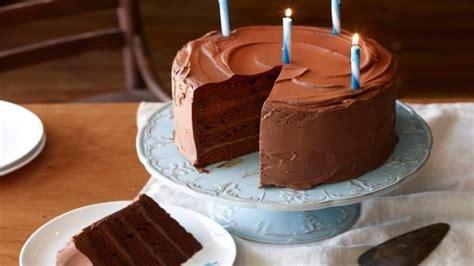 big chocolate birthday cake recipes food network uk