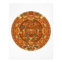 mayan colors mayan calendar color flyer zazzle