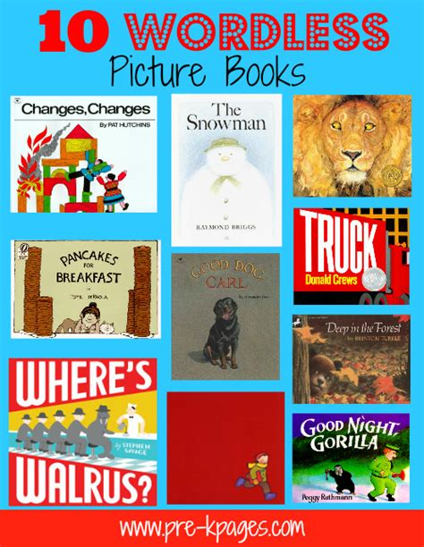 best wordless picture books bookinitat50 wordless picture books