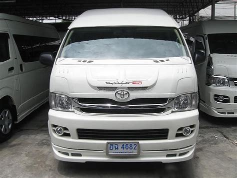 Toyota D4d Commuter Used Toyota Commuter Thailand