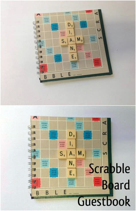 scrabble guest book 20 and exciting ways to repurpose board