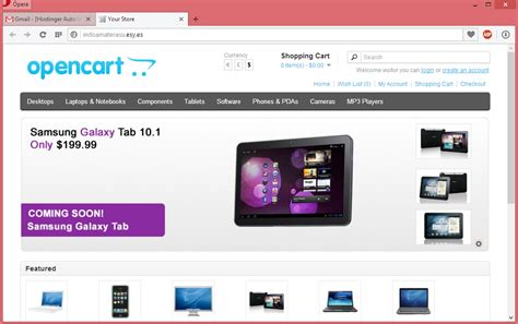 membuat toko online web membuat website toko online dengan cms opencart