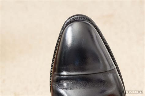 Dress Shoe Toe Taps by Flush Rubber Toe Taps Done Properly A Well Made Shoe Of Shoes