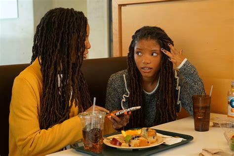 chloe and halle bailey acting chloe x halle bailey are the bff s you want to have on