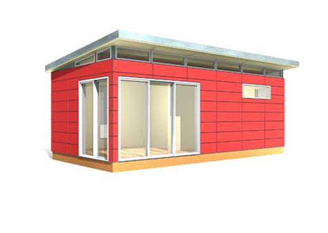 modern shed kit 12 x 24 prefabricated shed kits