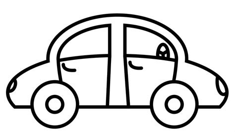 care coloring pages simple car coloring pages color bros