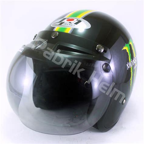 Helm Bogo Retro Klasik Jpn Motif Club Arsenal Sni helm jpn retro classic kaca bogo pabrikhelm jual helm murah