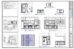 Floor Plan And Elevation Drawings Kitchen Plan Amp Elevation Drawing