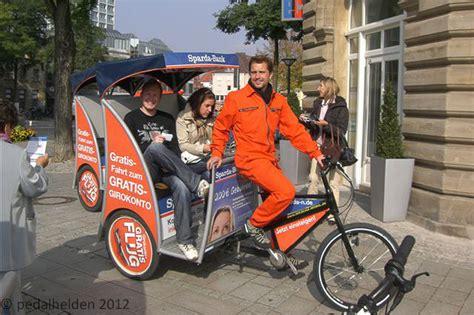 sparda bank erding werbung promotion die pedalhelden