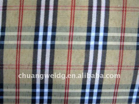Plaid Automotive Upholstery Fabric by Colorful Stretch Polyester Spandex Plaid Upholstery Fabric