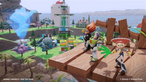 how do you play disney infinity wii disney infinity opens their box with new screens and