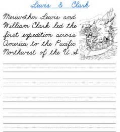 8 best images of cursive writing worksheets printable