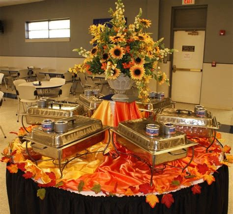 buffet table decoration ideas featuring shape
