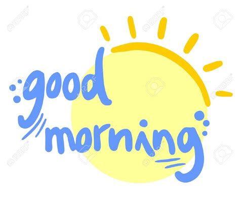 morning clipart clipart morning pencil and in color