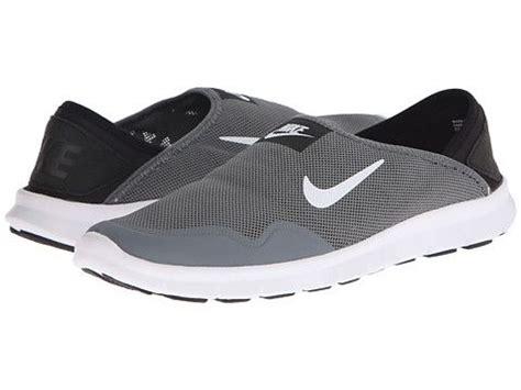 nike orive lite slip on cool grey black white zappos