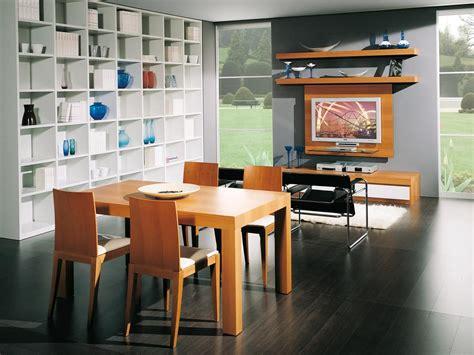 salotti e sale da pranzo tavolo estendibile in legno per ristoranti idfdesign