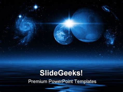 Earth Powerpoint Background Microsoft Powerpoint Templates Space
