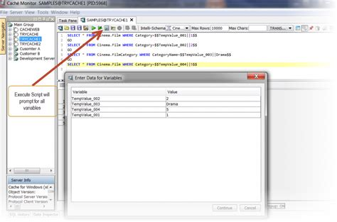 sql parameterized query tutorial execute parameterized sql scripts