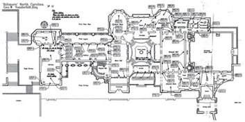 Biltmore Estate Floor Plans Biltmore House 1st Floor Blueprint Biltmore Estate