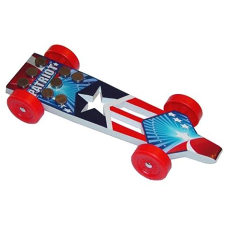 Derby Monkey Garage Templates by The Patriot Pinewood Derby Car Kit American Usa Flag Derby