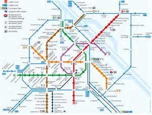 Vienna Subway Map by Kwan Um Zen Wien Information For Guests