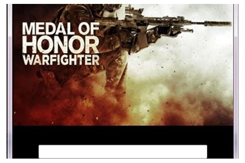 download medal of honor warfighter crack