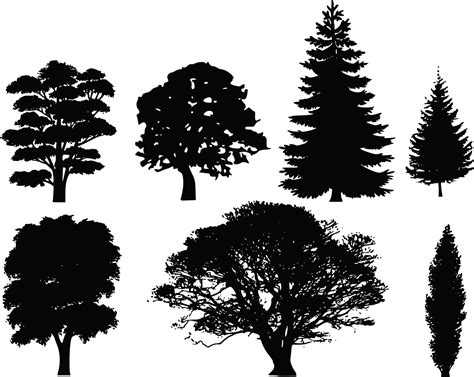 rcomkyh tree silhouette clip art