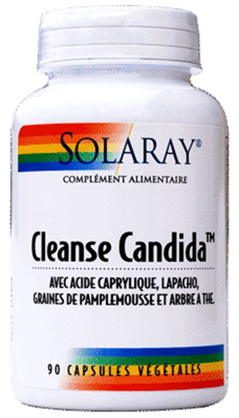 Detox Vision Candida by Cleanse Candida Solaray 90 G 233 Lules V 233 G 233 Tales