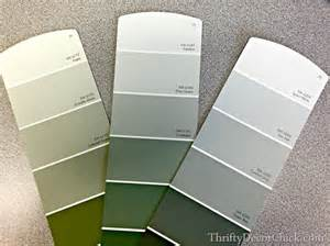 Door Accent Colors For Greenish Gray softened green in the bedroom from thrifty decor chick