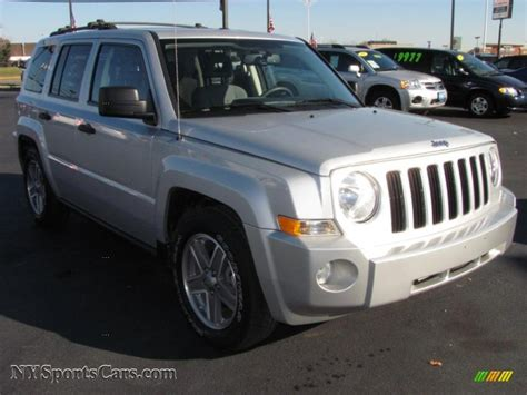 silver jeep patriot 2007 2007 jeep patriot sport 4x4 in bright silver metallic