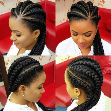 chuku hairstyle for nigeria women 50 ghana braids styles herinterest com