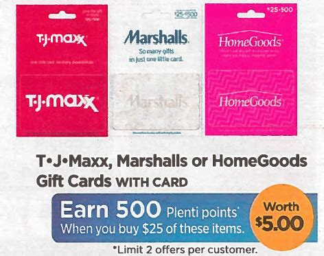 Home Goods Gift Cards At Walgreens - rite aid 10 29 tj maxx marshall homegoods gift card deal the accidental saver