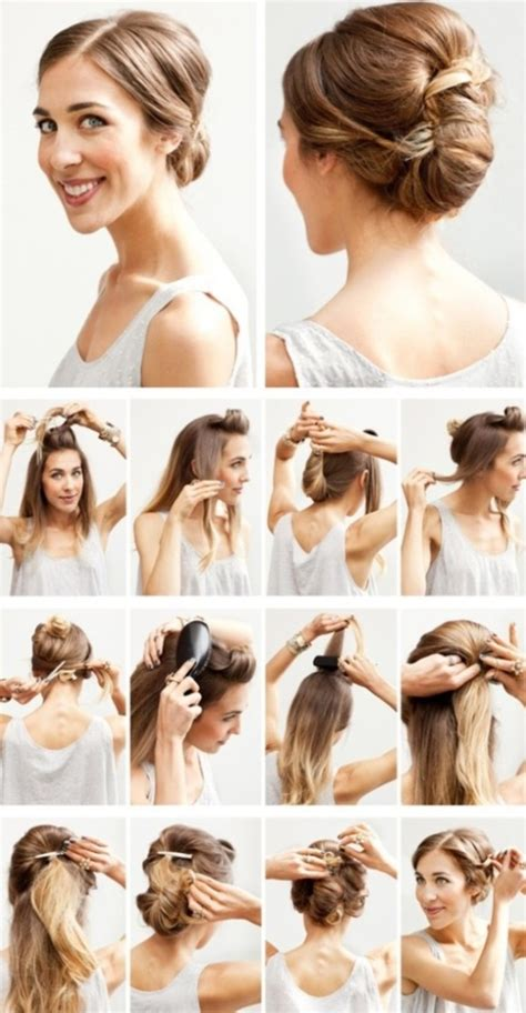 diy hairstyles for shoulder length 101 easy diy hairstyles for medium and long hair to snatch